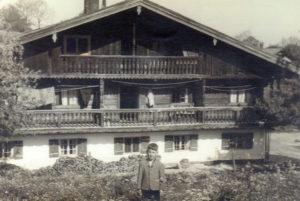 Berghammer Seppi Gmund - alter Sterneckerhof um 1950