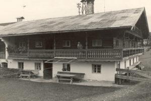 Berghammer Gmund - alter Sterneckerhof um 1940