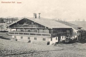 Berghammer Gmund - alte Postkarte vom Sterneckerhof