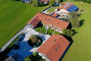 Berghammer Gmund - Luftbild vom Sternecker Hof